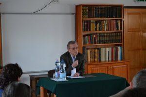 Dr. J. Nagy László előadása